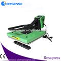 RS-G3838 máquinas para estampar camisetas máquina de estampación en caliente sombreros de prensa guangzhou