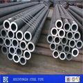 SCH40 tubos de acero negro