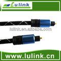Cable toslink, macho a macho, de audio digital óptica cable