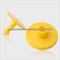 De un solo uso de ganado RFID EM4100 etiqueta de oreja para la gestión de seguimiento