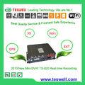 Intimate Post-venta-servicio y soporte técnico! TS-820 4Ch dobles D1 SD en tiempo real grabador CCTV 12V