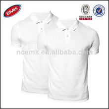 caliente la venta de la fábrica de china de polo camisetas baratas en blanco camisa de polo