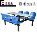 Mesa de jantar e 6 cadeiras baratos, atacado mobília do restaurante