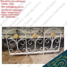 Jardín valla / muro de hierro decorativo / hierro forjado valla del jardín