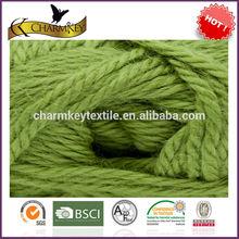 venta al por mayor fabricante de alpaca custo 4 capas de tejer a mano hilo de lana