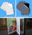 Muestra gratuita de la hoja de PVC adhesivo para álbum