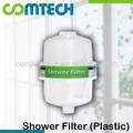 de plástico y nsf certificado de carbono kdf filtro de ducha