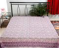 fantasia indiana lençóis de algodão impresso cama folha de cama por atacado capa