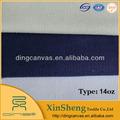 14oz 430g/m2 lona de algodón puro para la industria textil de la cartera
