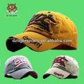 2012 estilo de la moda del bordado gorra de béisbol