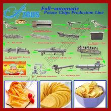 nuevo diseño popular de aperitivos de patata papasfritas aromatizantes máquina