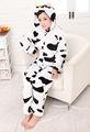 el más barato de animales adultos pijama bodies de la vaca de dibujos animados sleeperware cosplay