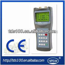Computadora de mano pinza de ultrasonidos en medidor de flujo/disel medidor de flujo