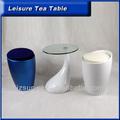 Caliente venta ronda mesa de café, mesa de té