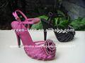 flor de la moda sandalia 2014 para las niñas