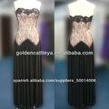 gd3565 excepcional sin tirantes de largo las niñas vestidos de concurso