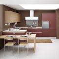 Muebles de cocina modulares de tamaño estándar pkc-087