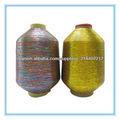 mx- tipo de tejer hilo metálico hilo de color