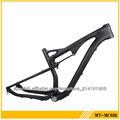 2013 venta caliente completo de carbono mtb marco 29er t700 bicicleta de carbono 29er completo suspensión marco