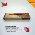 cajas de madera baratos, sistema de madera de la pluma del regalo