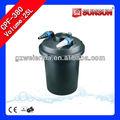 10000l/h estanque koi con filtro uv de la lámpara