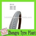 Branco puro pneu moto/natural de borracha de pneu de bicicleta/sólidos pneus de bicicleta para a venda