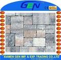 pedra de pavimentação de granito de passos do revestimento