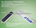 CE/RoHS/IP65 certificado lámparas para postes 40w luz llevada solar