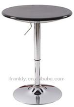 Moderno 2014 duradera utiliza la barra redonda mesa/caliente venta interactivo tabla de la barra