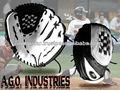 """Piel de la vaca cuero 12 1/2"""" guante de béisbol/express de calidad guantes de béisbol"""