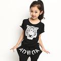 2014 Loveslf El último fabricante de ropa de los niños de diseño de verano / Tiger