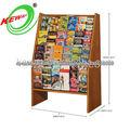 Yiwu Escuela de Diseño Biblioteca de madera Estantería de libros