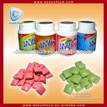 de alta calidad de sabor de la fruta goma de mascar xilitol en botella