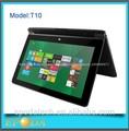"""10.1"""" intel tableta baytrail n2806 sin ventilador de doble núcleo de venta al por mayor de tablet pc de windows 8"""