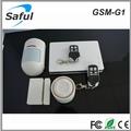 Sistema de alarme para casa gsm 315mhz/433mhz saful gsm-g1