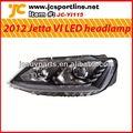 2012 para vw jetta/sagitar frontal led de la lámpara coche headlamp pp luz delantera