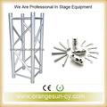 truss de iluminación de elevación profesional con altavoces line array fácil para llevar