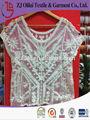 moda de encaje de algodón ropa de ganchillo chaleco para las mujeres