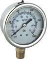 Acero inoxidable manómetro, medidor de presión