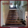 de madera simple escalera de cristal