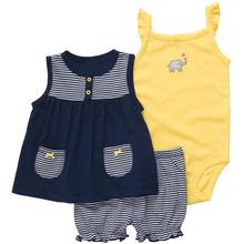sistema del vestido del bebé