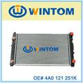 radiador de refrigeración del motor 4A0 121 251K