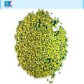 de vidrio de color granos de la semilla