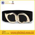 galvanoplastia hebilla de cinturón elástico para la mujer