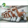 modelo de dibujos animados caballo inflable personalizado caballo gordo inflable