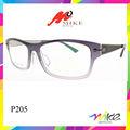 2014 nuevo estilo de gafas de marco de nylon marcos lente fabricante de china