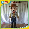 Toy Story Woody movimiento vestuario