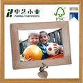 el diseño simple de madera marco de fotos