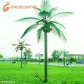 nueva led de árbol de coco cuadrado de luz decorativa