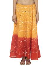 las mujeres falda tradicional de la india al por mayor de impresión faldas largas